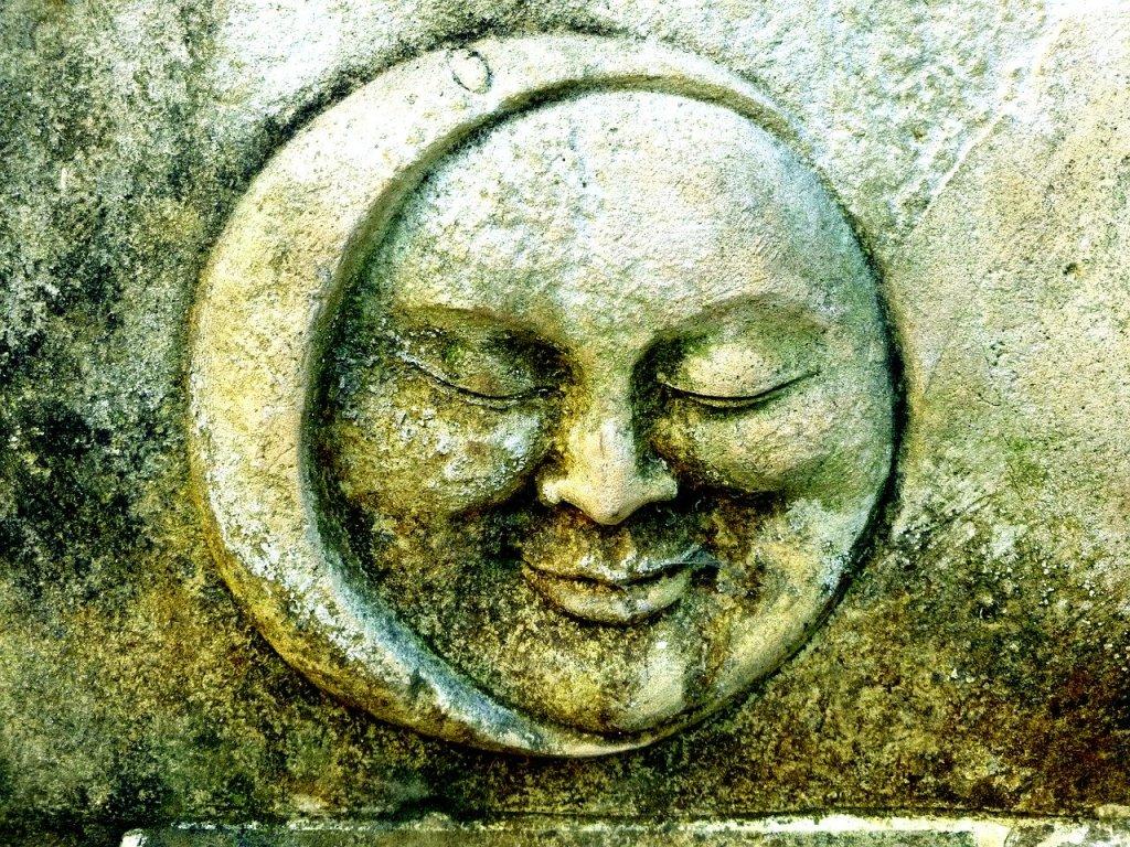 Symbole du soleil et de la lune