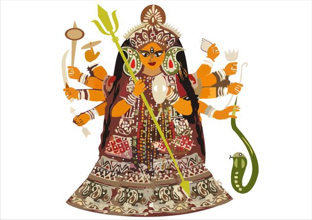 Déesse Durga